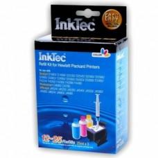 Заправочный набор для принтеров НР InkTec HPI-1061C, цветной