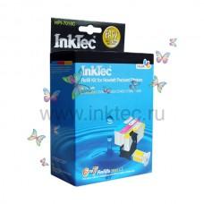 Заправочный набор для принтеров НР InkTec HPI-7018C, цветной