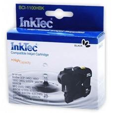 Картридж струйный InkTec для Brother BCI-1100HBK, черный