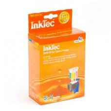Заправочный набор для принтеров Canon InkTec BKI-2011C цветной